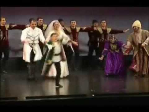 haykakan parer - Armenian traditional wedding dance performed by Vanoush Khanamerian Dance School, honoring Vanoush Khanamerian's 75th birthday in 2003.