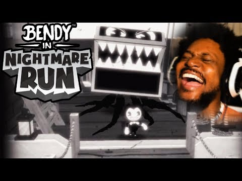 NEW BENDY RUNS GAME IS CRAZY! | Bendy In Nightmare Run (видео)