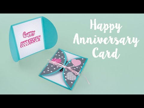 How to Make this Happy Anniversary Card!