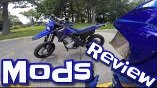 10. 2008 WR250X Mods + Walkaround + Review