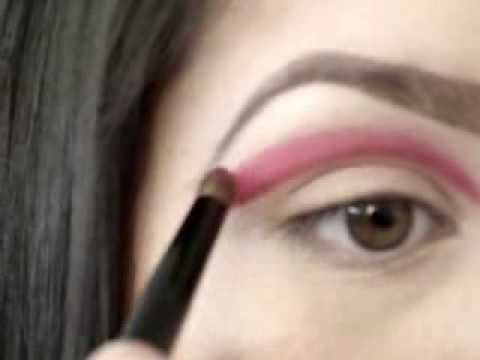 Dramatic Pink & Silver EyeShadow Tutorial