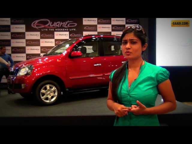Mahindra Quanto launch