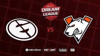 Evil Geniuses vs Virtus.pro, DreamLeague Season 11 Major, bo3, game 2 [4ce & Lex]