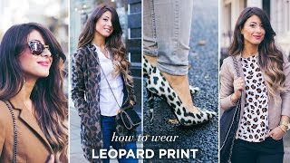 How To Wear Leopard Print | Mimi Ikonn