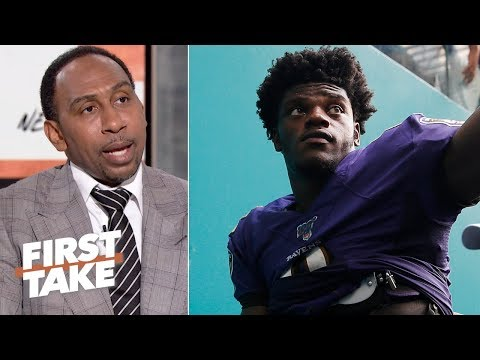 Video: Stephen A. is pumping the brakes on the Lamar Jackson hype | First Take