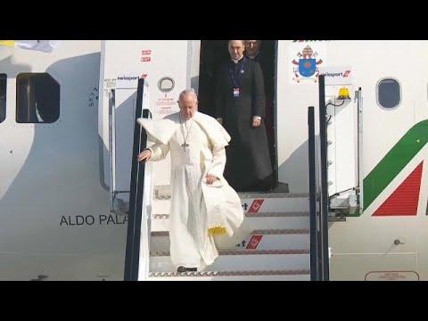 Έφτασε ο Πάπας Φραγκίσκος στην Ιρλανδία