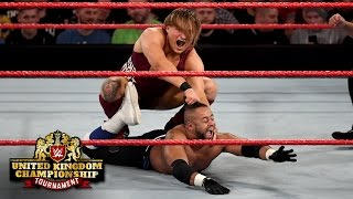 Nonton Pete Dunne uses the steel ring steps to hurt Roy Johnson: WWE United Kingdom Championship Tournament Film Subtitle Indonesia Streaming Movie Download