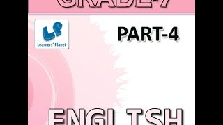 Grade-7-English-Part-4 YouTube video