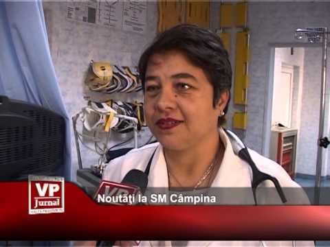 Noutăți la SM Câmpina