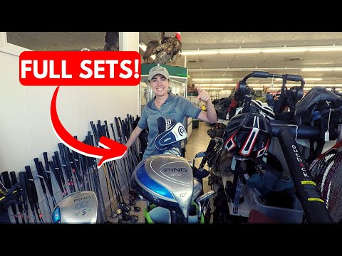 THE MOST GOLF CLUBS WE'VE EVER SEEN IN ONE STORE!! (10+ COMPLETE SETS!!)