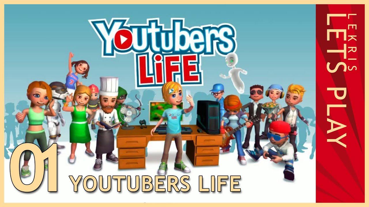 So bekommt jeder 10k Abonnenten! - Let's Play Youtubers Life #01 [Deutsch/German]