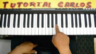 Unico Dios Evan craft ft. Marco Barrientos Piano Tutorial Carlos
