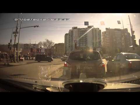 ВАЗ сбил человека на перекрёстке