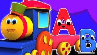Bob treno avventura con i numeri fumetto 3d per i bambini video