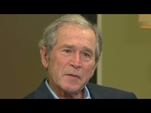 Bush - Part 1 of John King's interview with former President George W. Bush deals with his life after leaving office. For more CNN videos, visit our site at http://...