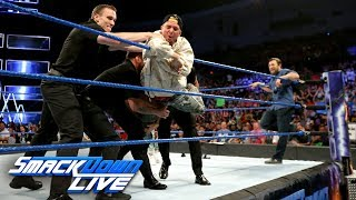 SmackDown LIVE General Manager Daniel Bryan ensures that James Ellsworth won't be able to interfere in the second-ever Women's Money in the Bank Ladder Match...