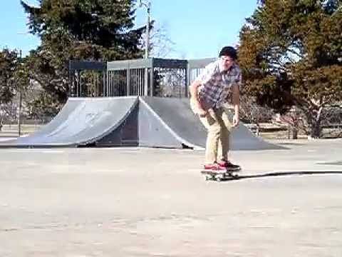 Ollie over picnic table