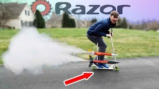 Rocket Powered Scooter!