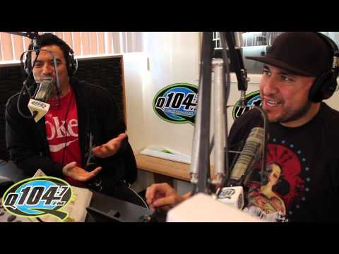 Carlos Mencia on Q104.7's The Rico and Mambo Morning Show