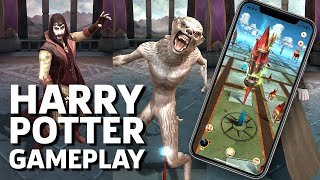 Harry Potter: Wizards Unite Launch Day iOS Gameplay by GameSpot