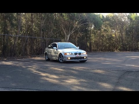 AWESOME BMW 320CI E46 QUICK DRIVE LOUD!!!