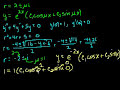 Complex roots of the characteristic equations 3 Video Tutorial