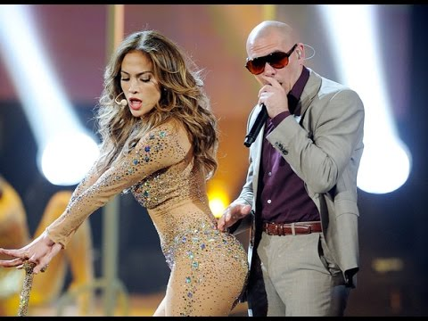 Jennifer Lopez -  Papi  On The Floor feat  Pitbull  America Music Awards