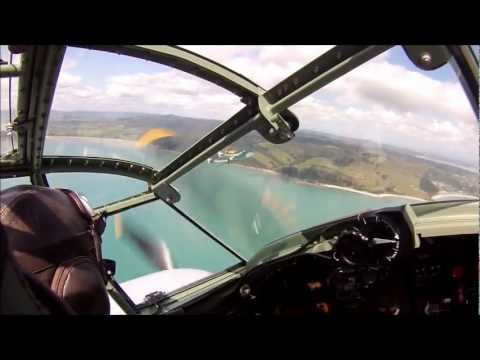 Flying - In October 2012 Warren Denholm put our POV camera on his helmet to record the photo shoot we conducted from Ardmore with the Mosquito and a DH Vampire over A...
