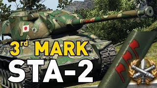 """World of Tanks - STA-2. Today I'm 3 marking the T8 Japanese premium medium the STA-2.SUBSCRIBE for more videos!: ►https://goo.gl/5VIiJnT-SHIRTS: ►https://goo.gl/s2OINqLIVESTREAMS: Tuesdays, Thursdays and Sundays for 5 hours+ Starting @ 18:00-CET / 17:00-GMT / 12:00-EST►http://www.twitch.tv/quickybabyTwitter ►http://www.twitter.com/quickybabyFacebook ►http://www.facebook.com/quickybabyI'm partnered with G2A, get the latest games at the best prices! ►3% cashback using MY code: ►BABY◀ https://www.g2a.com/r/quickybabyQuickyBaby's FAQ►https://goo.gl/4Mi8wj___World of Tanks is a Free 2 Play online game published by Wargaming and is available as a free download here:https://goo.gl/AcgARAUse invite code """"QUICKYBABY4WOT"""" to get a T-127 with a 100% crew, 500 gold, 7 days premium, and a gun laying drive!"""