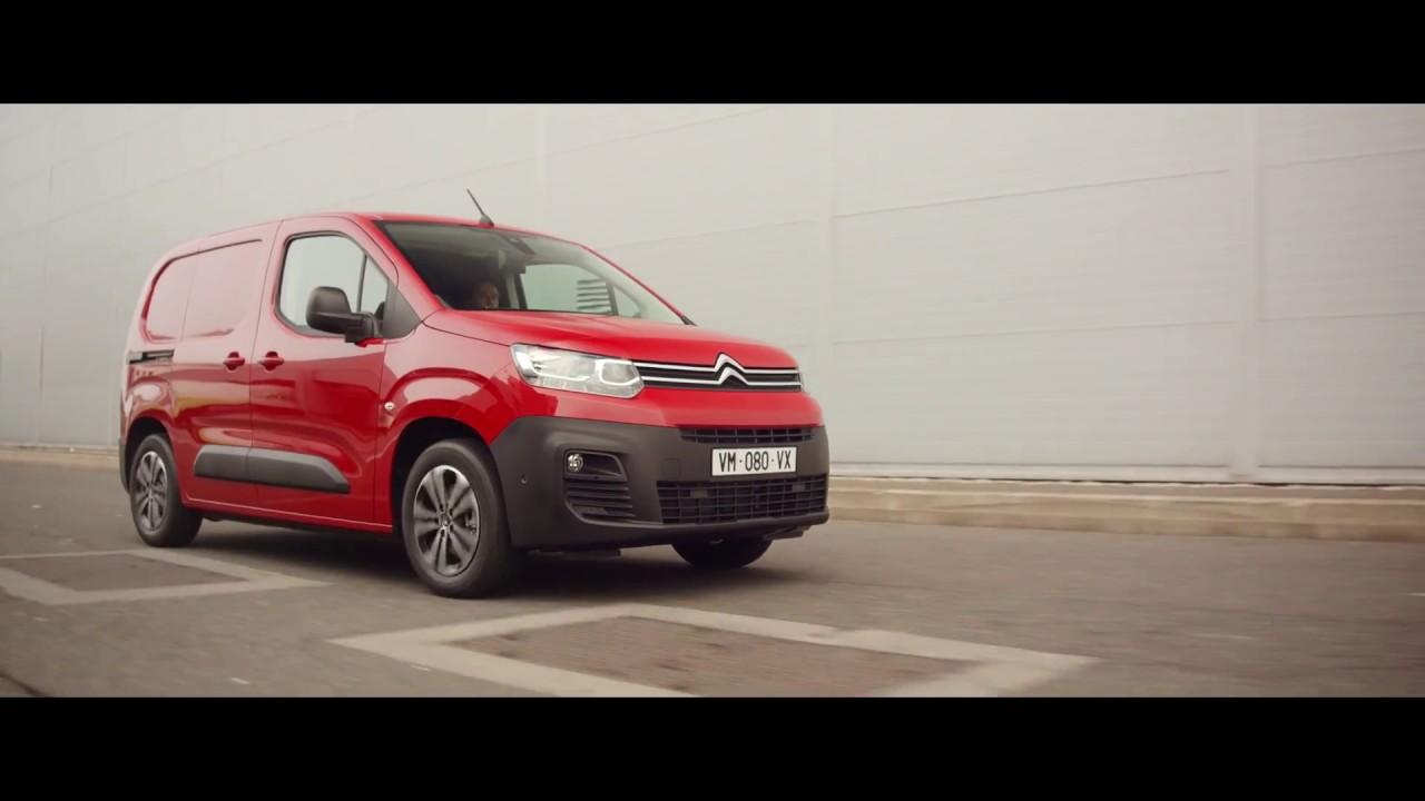 Nouveau Citroën Berlingo Van, Comme vous, il sait tout faire !