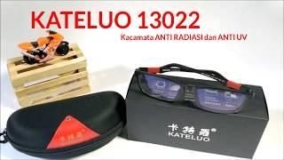 Kacamata ANTI RADIASI Layar SMARTPHONE, LAPTOP & ANTI UV. KA TE LUO 13022