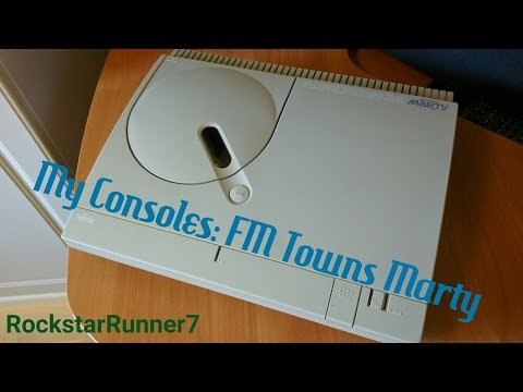 My Consoles: FM Towns Marty