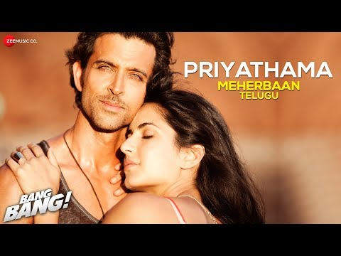 Priyathama Meherbaan Telugu Version Bang Bang  Ash King  Hrithik Roshan  Katrina Kaif