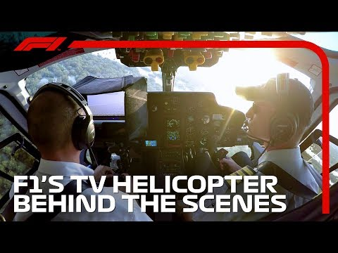 F1 Explained: The TV Helicopter