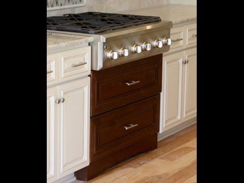Install built in range(stove) top.