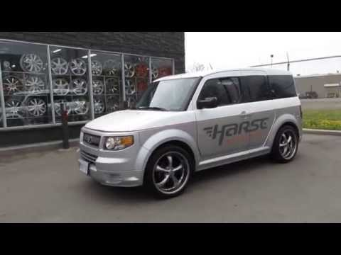 HILLYARD RIM LIONS 2007 HONDA ELEMENT RIDING ON 20 INCH WHEELS AND TIRES CUSTOME