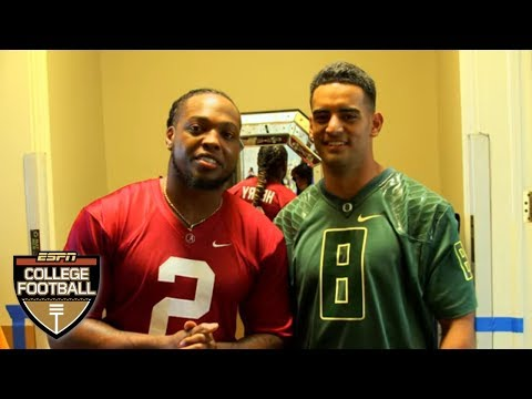Video: Marcus Mariota and Derrick Henry tour the Nissan Heisman House | College Football on ESPN