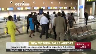 Victoria Falls Zimbabwe  City new picture : Zimbabwe's President Mugabe to open newly Chinese-built Victoria Falls airport