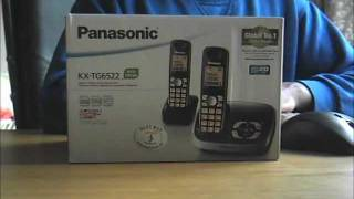 KXTG6512B Phone System Review YouTube video
