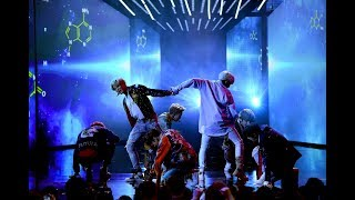 Video BTS on AMA's Performing DNA MP3, 3GP, MP4, WEBM, AVI, FLV April 2019