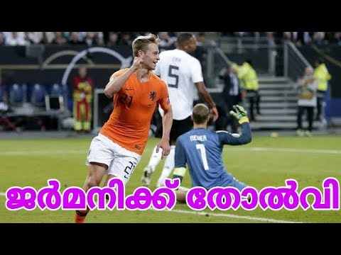 Germany vs Netherlands Match Report | Euro 2020 Qualifiers (Malayalam)