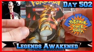 Pokemon Pack Daily Legends Awakened Booster Opening Day 502 - Featuring Robbie Lee by ThePokeCapital