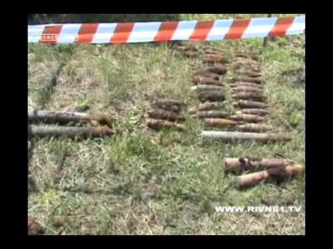 В Острозькому районі виявили 62 боєприпаси [ВІДЕО]