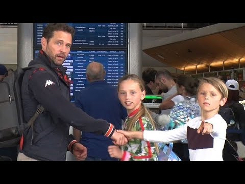 Jason Priestley And The Kids Getaway For A Family Vacation