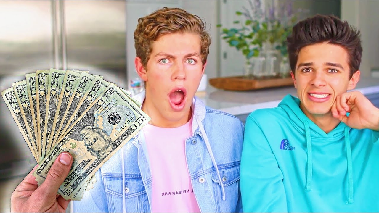 PAYING BRENT RIVERA TO TELL ME HIS DEEPEST SECRETS!! - YouTube