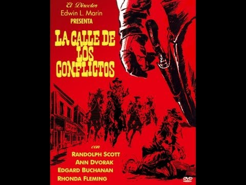 LA CALLE DE LOS CONFLICTOS (Abilene Town, 1946, Full Movie, Spanish, Cinetel)