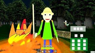 PLAY AS CAMPING BALDI! Baldi's Basics Field Trip 3D