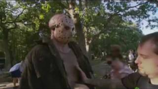 friday 13th  Friday The 13th (2009) Behind The Scenes B-roll Footage W/ Soundtrack Part 1