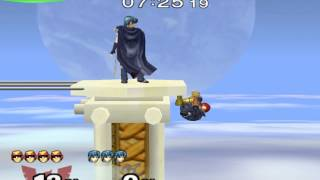 New SSBM Stage Hack! – Greece: Mount Olympus