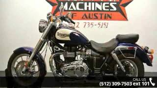 10. 2007 Triumph America  - Dream Machines Indian Motorcycle ...